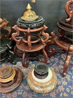 Large Lot of Misc. Footed and Other Stands