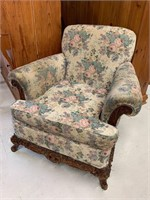 Oversize Armchair or Bergere Chair