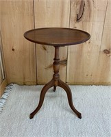 Elegant Tri Footed Side Table