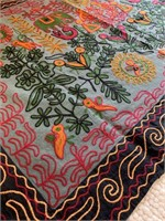 Very Decorated Indonesian Mat