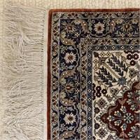 Stunning Silk Persian Wall Rug
