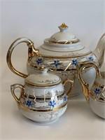 Antique Miniature Demitasse Tea Set
