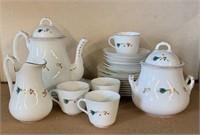 Mid Century Modern Tea Set