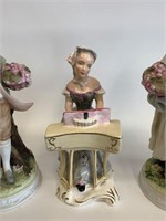 Group of Lamore and Wedgwood China Figurines