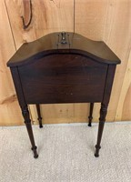 Antique Sewing Stand
