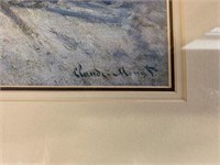"""Claude Monet """"The Magpie"""" Framed Print"""