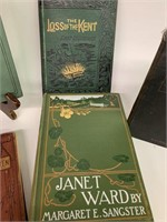 Grouping of Antique Hardcover Novels