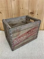 RAREÉ.Adanac Dry Ginger Ale Crate