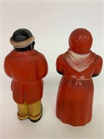 Pair of Early Black Memorabilia Salt and Peppers