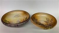 Pair of Stunning Early Noritake Nippon Bowls