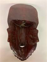 Rare Ivory Wooden Tribal Mask