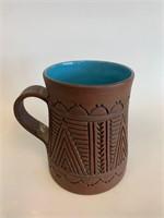 Mohawk Pottery Glazed Mug