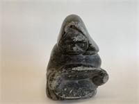Soapstone Inuit Figure