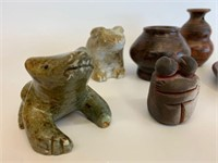 Grouping of Many Native Collectables