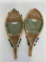 Exceptional and Early Miniature Snowshoe Set