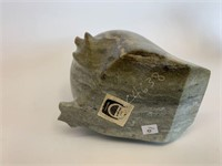 Canadian Eskimo Art Soapstone Bird