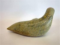 Fine Inuit Carved Soapstone Seal
