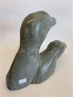 Soapstone Bird/Seal Heads