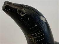 Black Soapstone Loon