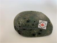 Green Soapstone Keep Box
