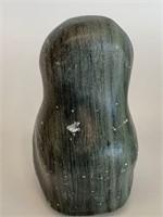 Green Soapstone Owl