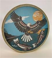Clarence Wells Haida Northwest Drum