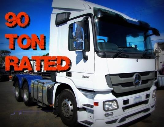 2011 Mercedes Benz Actros 2651 Southern Star Truck Centre Pty Ltd - Trucks for Sale