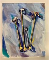 Original Lynn Donohue Oil on Canvas