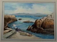 Original Annie O Casson Watercolour