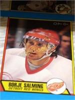 Uncut Hockey Card Sheets
