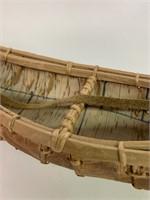 """Old Birchbark Canoe 16"""" Long"""