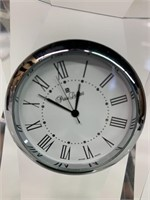 Fine Crystal Swiss Desk Clock