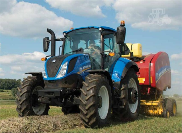 2019 new holland t5 120 ec tier 4b