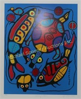 NORVAL MORRISSEAU LIMITED EDITION PRINT