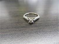 10 KS GOLD DIAMOND RING