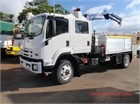 2013 Isuzu FSS 500 4x4 Crew Service Vehicle