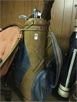 AMF Ben Hogan Golf Bag with Clubs