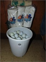 Golf Balls and Club Head Covers