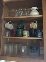 Clear Glassware and mugs