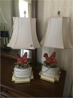 Cardinal lamps