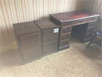 Maddox Desk and filing cabinets