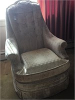 Fairfield Upholstered high back chair