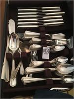 S monogramed Silver set