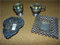 sterling bowls and dishes