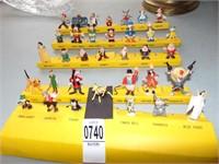 Miniature Disney Figurines