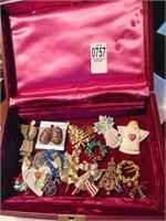 Jewelry and Farrington jewelry box