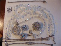 Aurora Borealis Crystal Jewelry and other crystals