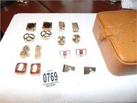Gem encrusted cufflinks
