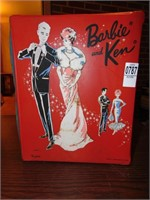 Barbie & Ken Dolls with case