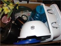Dish rack, bowl & kitchen accessories